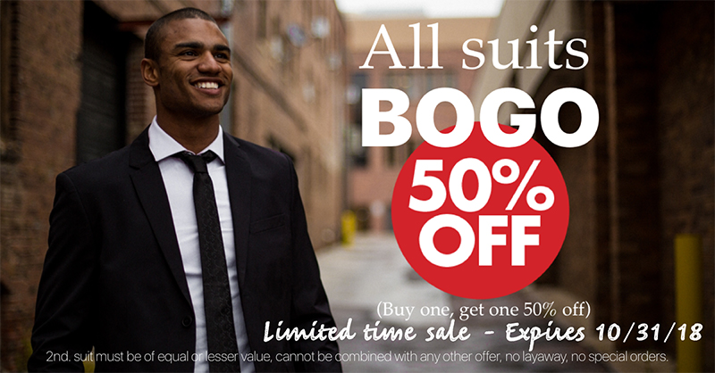 Suit_sale_buy_one_get_get_one_half_price