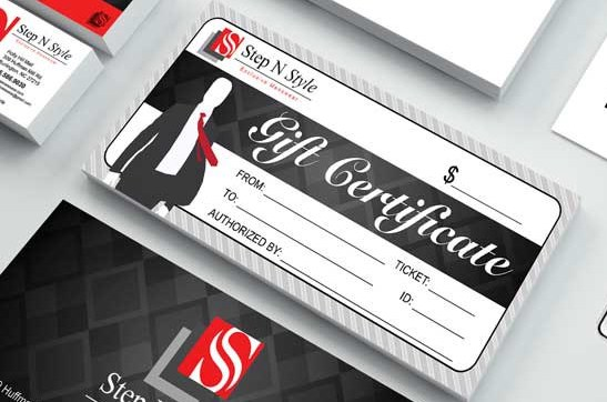 Step N Style gift Certificate