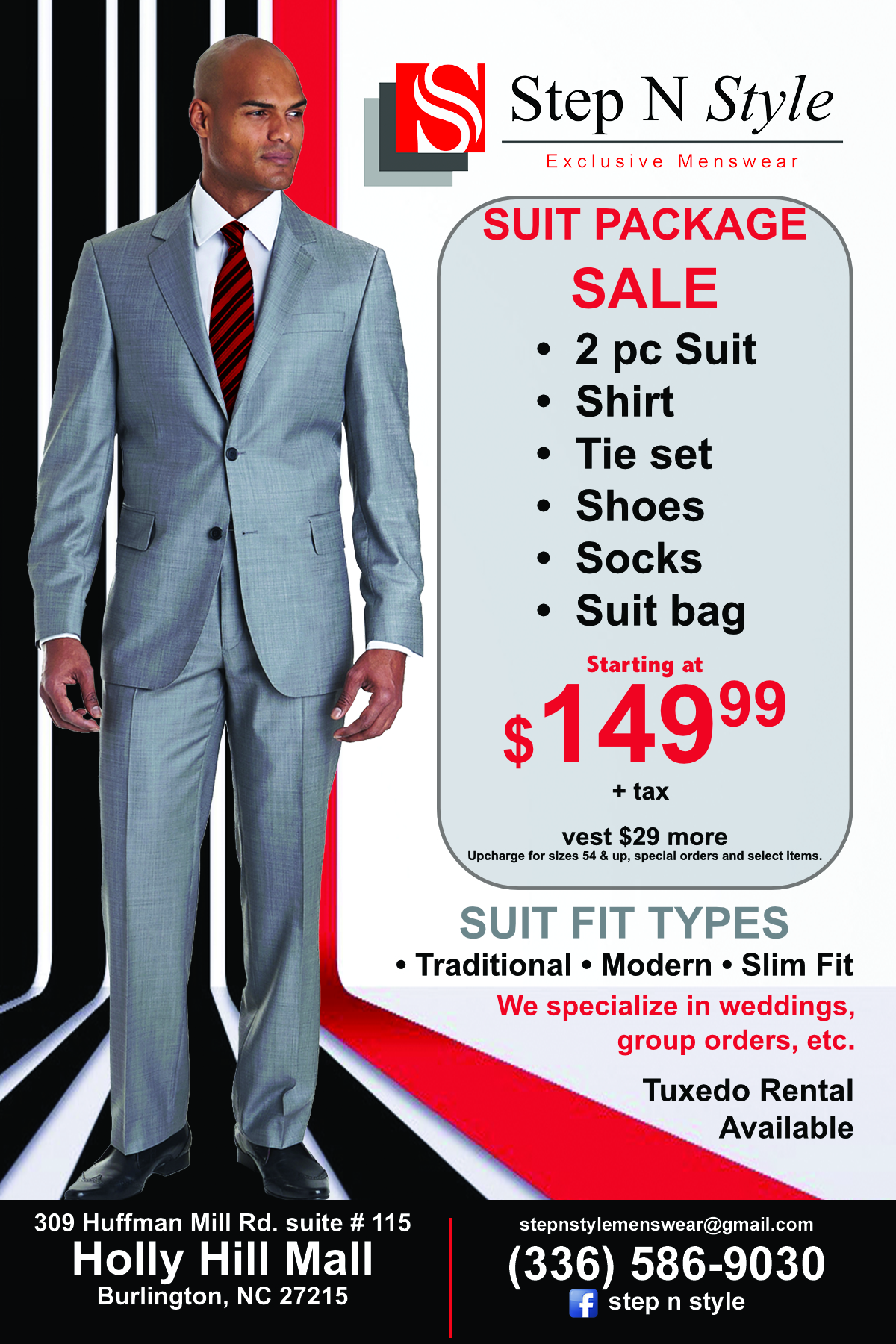 Suit Package Sale